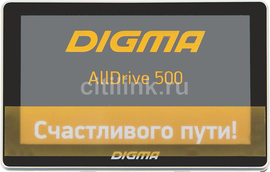 GPS навигатор DIGMA ALLDRIVE 500,  5