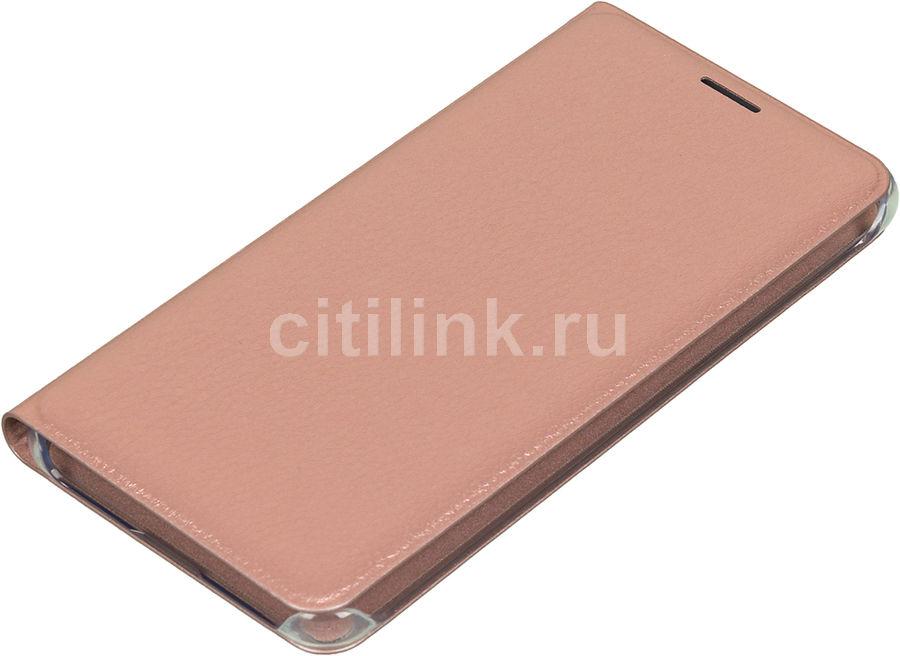 Чехол (флип-кейс) SAMSUNG Flip Wallet, для Samsung Galaxy A5 (2016), розовое золото [ef-wa510pzegru]
