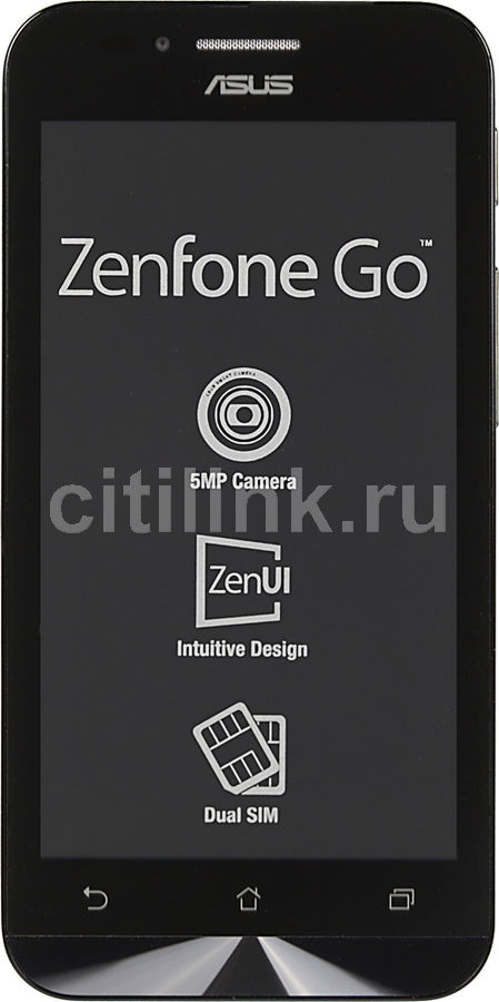 Смартфон ASUS Zenfone Go ZC451TG  8Gb, синий
