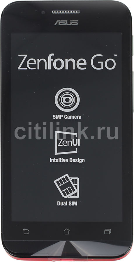 Смартфон ASUS Zenfone Go ZC451TG  8Gb, розовый