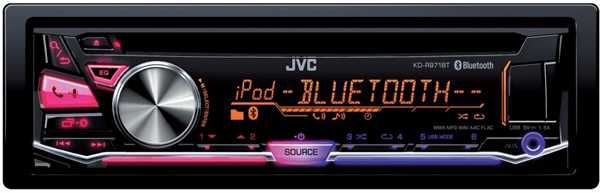 Автомагнитола JVC KD-R971BT,  USB