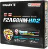 Материнская плата GIGABYTE GA-F2A68HM-HD2 Socket FM2+, mATX, Ret вид 8