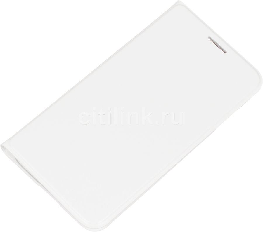 Чехол (флип-кейс) SAMSUNG EF-FJ105P, для Samsung Galaxy J1 mini, белый [ef-fj105pwegru]