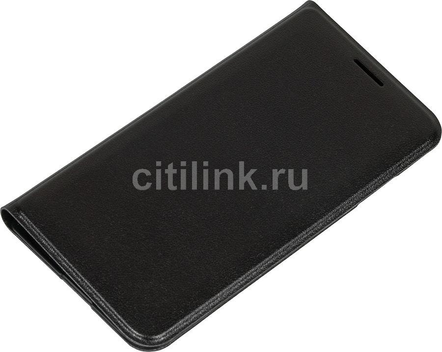 Чехол (флип-кейс) SAMSUNG EF-FJ105P, для Samsung Galaxy J1 mini, черный [ef-fj105pbegru]