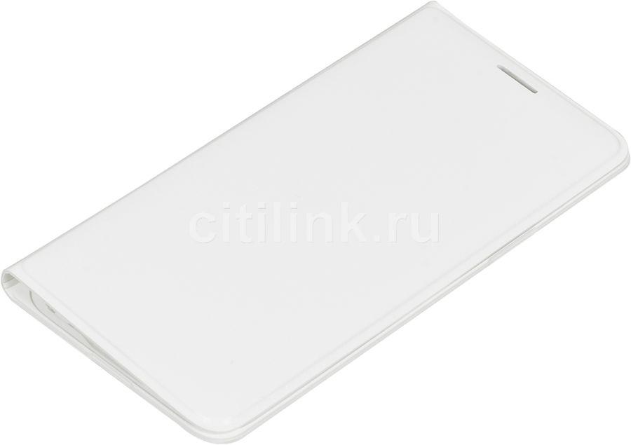 Чехол (флип-кейс) SAMSUNG Flip Wallet, для Samsung Galaxy J3, белый [ef-wj320pwegru]