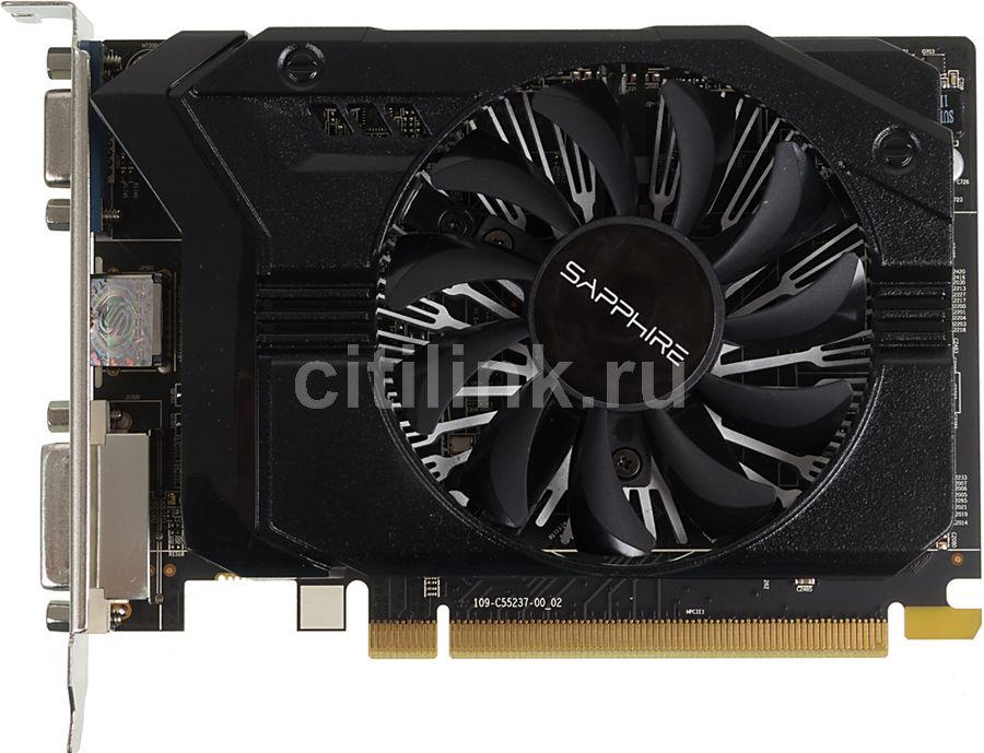Видеокарта SAPPHIRE Radeon R7 250,  11215-21-20G,  2Гб, GDDR3, lite