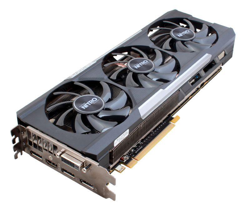 Видеокарта SAPPHIRE AMD Radeon R9 390X , 11241-04-20G NITRO TRI-X OC W/BP  (UEFI)