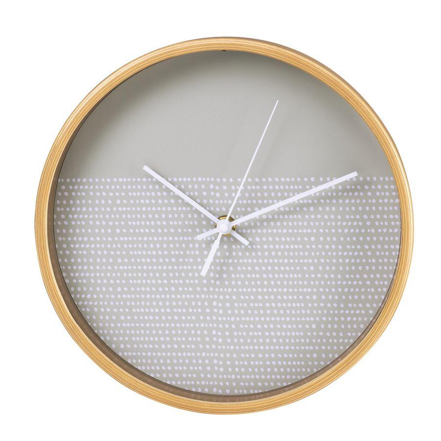 Настенные часы HAMA HG-260, аналоговые,  серый