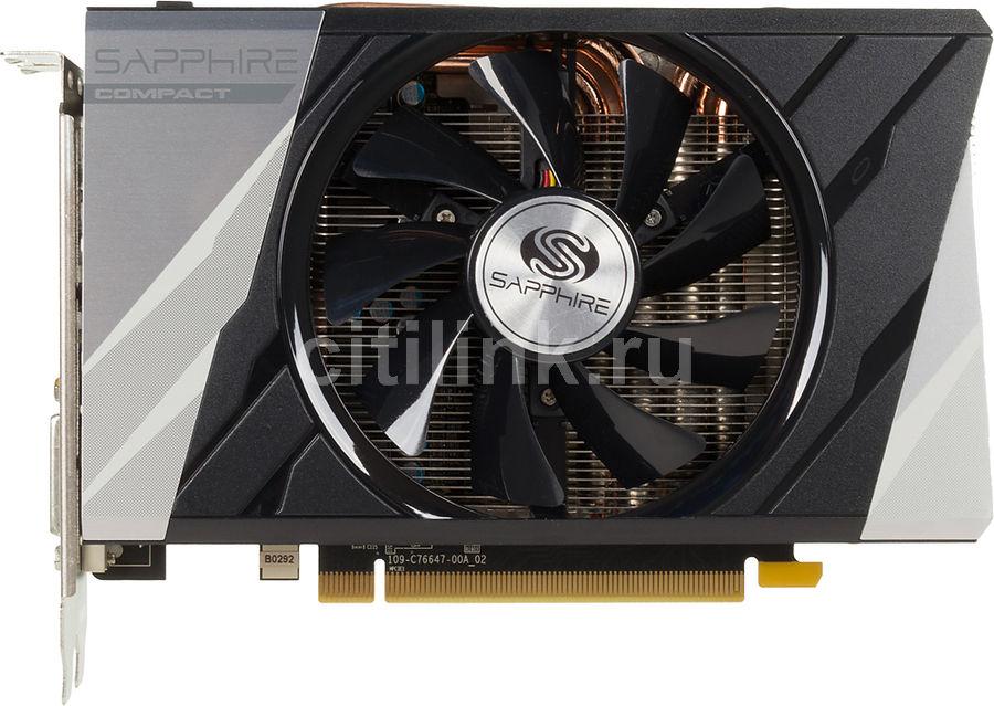 Видеокарта SAPPHIRE Radeon R9 380,  11242-00-20G ITX COMPACT OC,  2Гб, GDDR5, OC,  Ret
