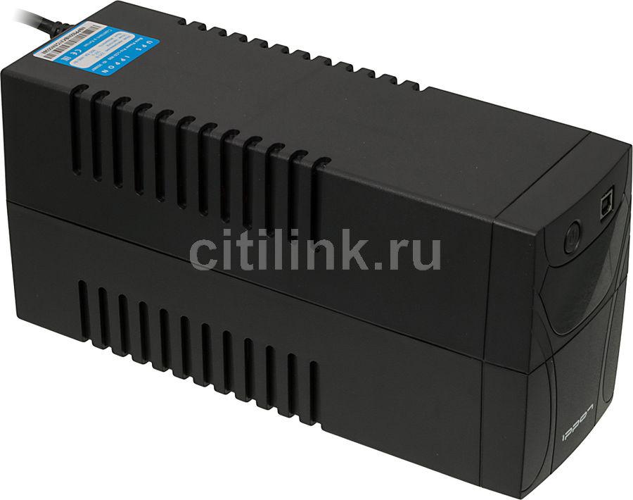 Источник бесперебойного питания IPPON Back Power Pro LCD 800,  800ВA [353907]