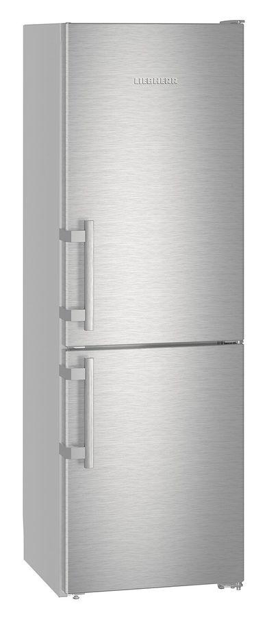Холодильник LIEBHERR CNef 3515,  двухкамерный,  нержавеющая сталь
