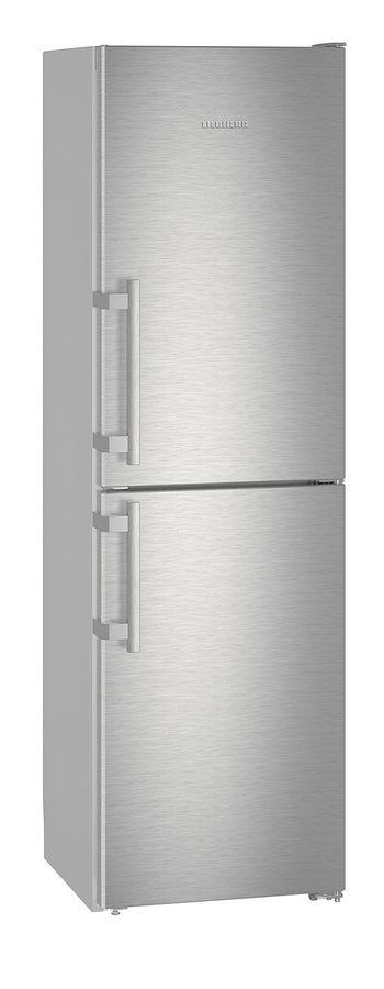Холодильник LIEBHERR CNef 3915,  двухкамерный, нержавеющая сталь
