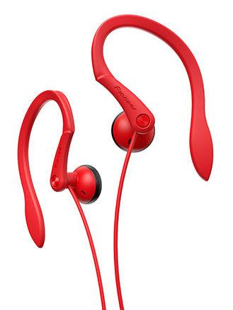 Наушники PIONEER SE-E511-R, вкладыши,  красный, проводные