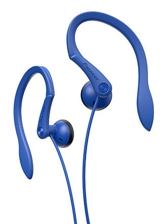 Наушники PIONEER SE-E511-L, вкладыши,  синий, проводные
