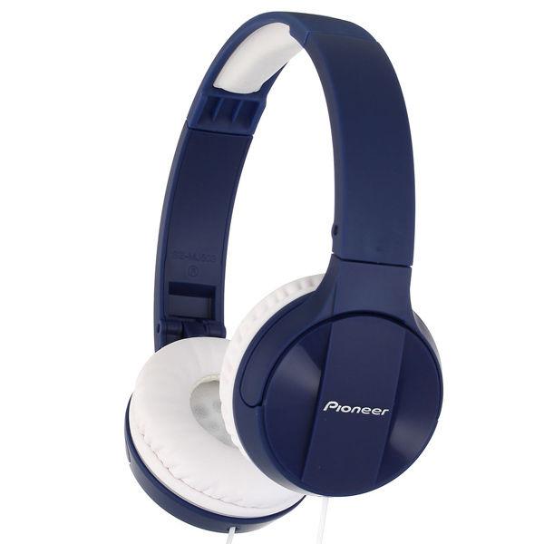Наушники PIONEER SE-MJ503-L, мониторы,  синий, проводные
