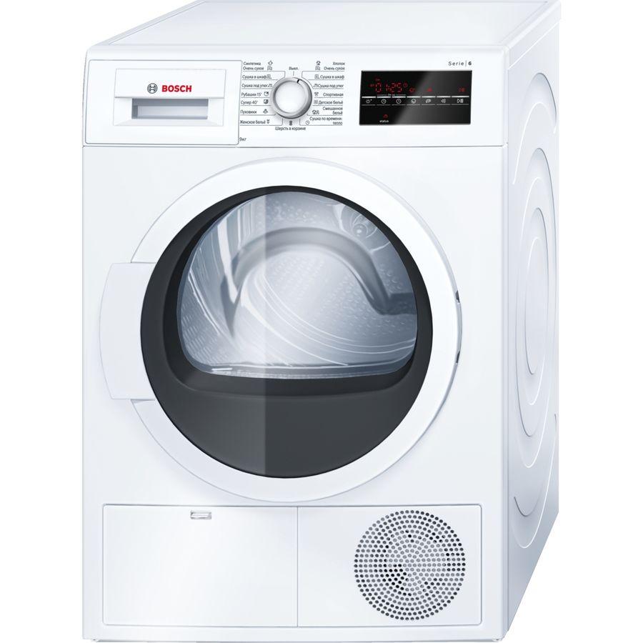 Сушильная машина BOSCH WTG86400OE белый