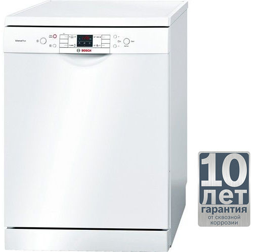 Посудомоечная машина BOSCH SMS40L02RU,  полноразмерная, белая