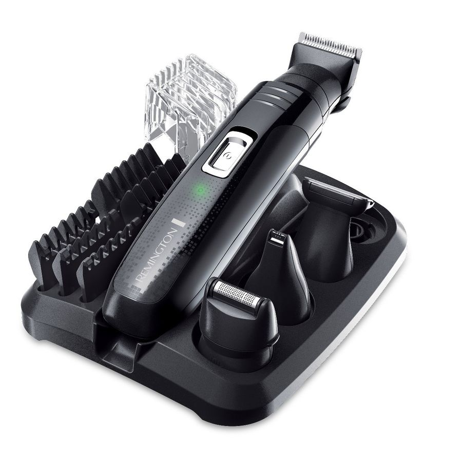 Триммер REMINGTON PG6130, черный remington groom kit plus pg6150