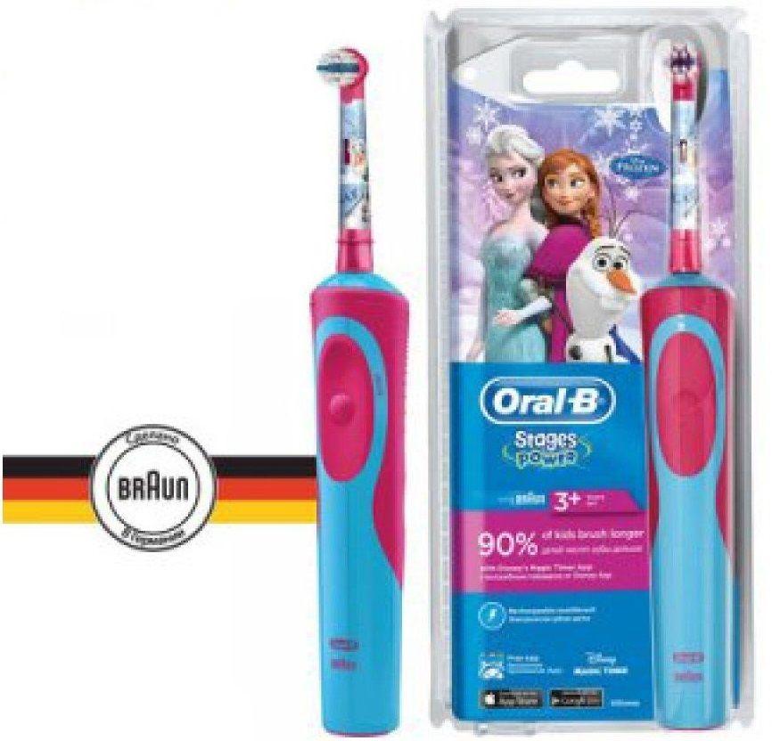 Электрическая зубная щетка ORAL-B Frozen Vitality Kids для детей