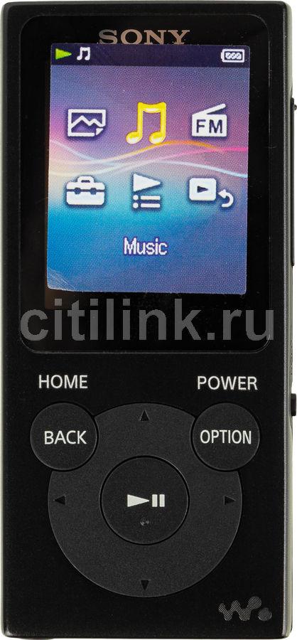 MP3 плеер SONY NW-E394 flash 8Гб черный [nwe394b.ee]