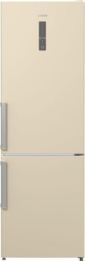 Холодильник GORENJE NRK6191MC,  двухкамерный, бежевый