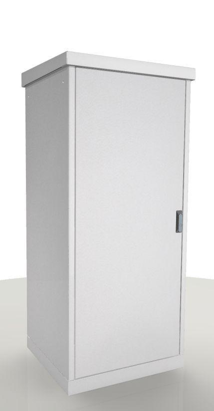 Шкаф серверный ЦМО (ШТВ-1-21.6.8-4ААА) 21U 640x800мм пер.дв.стал.лист без задн.дв. 2 бок.пан. направ