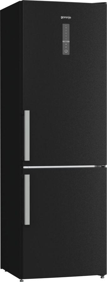 Холодильник GORENJE NRK6192MBK,  двухкамерный,  черный