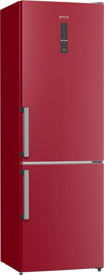 Холодильник GORENJE NRK6192MR,  двухкамерный, бордовый