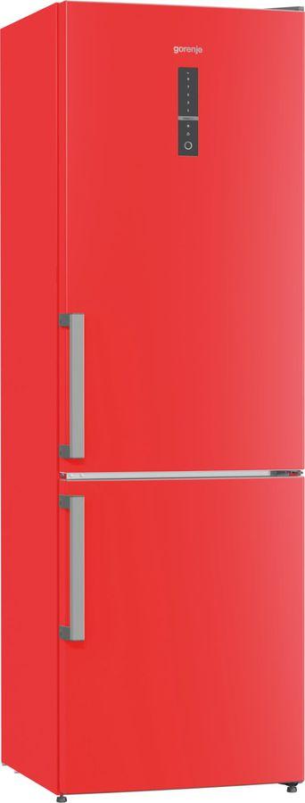 Холодильник GORENJE NRK6192MRD,  двухкамерный, красный