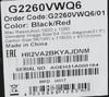 Купить Монитор ЖК AOC Gaming G2260VWQ6(00/01) 21.5