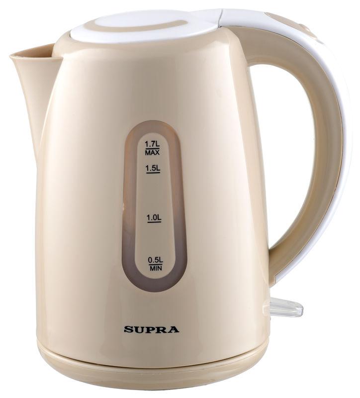 Чайник электрический SUPRA KES-1720, 2200Вт, бежевый