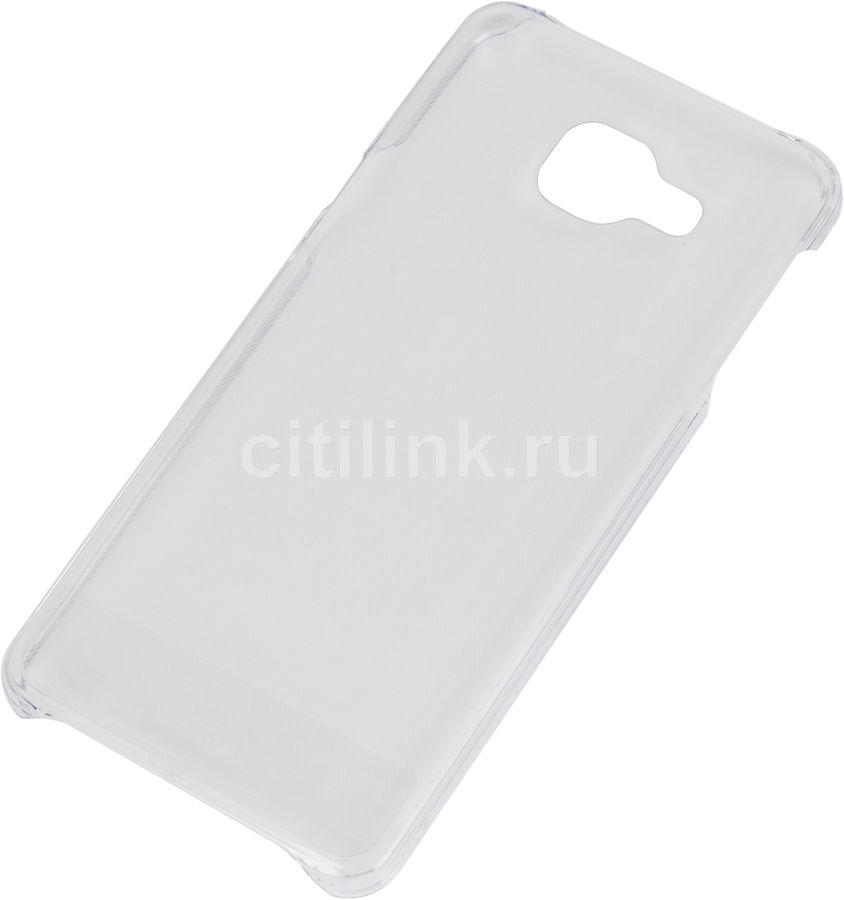 Чехол (клип-кейс) SAMSUNG Slim Cover, для Samsung Galaxy A3 (2016), прозрачный [ef-aa310ctegru]