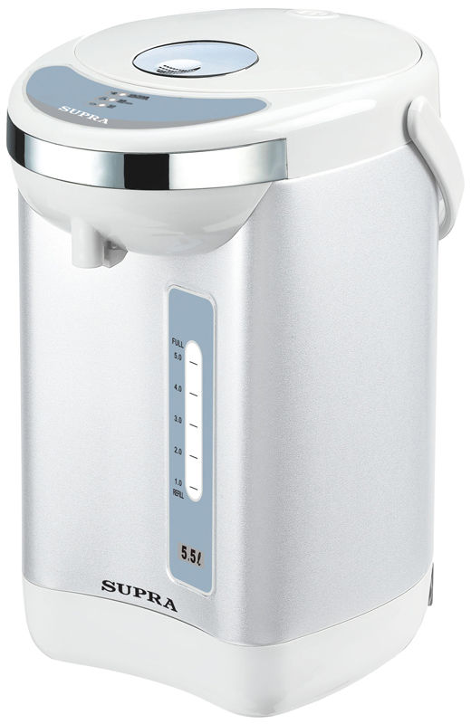 Термопот SUPRA TPS-3004,  серебристый и белый [9752]