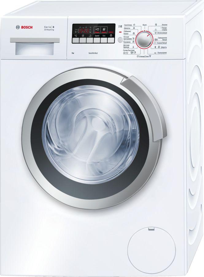 Стиральная машина BOSCH WLK20267OE, фронтальная загрузка,  белый