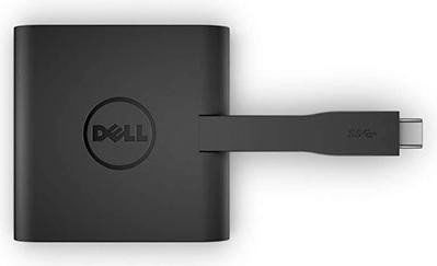 Адаптер Dell 470-ABRY USB-C to HDMI/VGA/Ethernet/USB 3.0 DA200