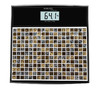 Весы SCARLETT SC-BS33E066, до 180кг, цвет: черный/рисунок вид 1