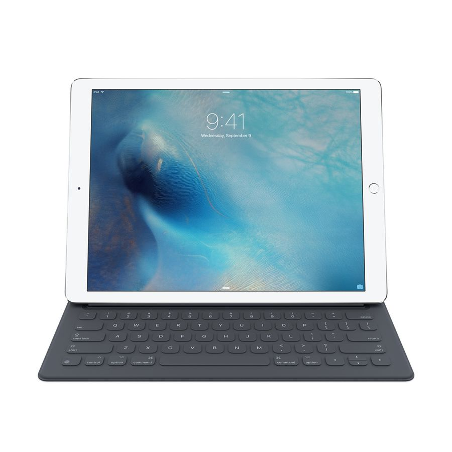 Клавиатура APPLE Smart Keyboard, iPad Pro 12.9 черный [mjyr2zx/a]