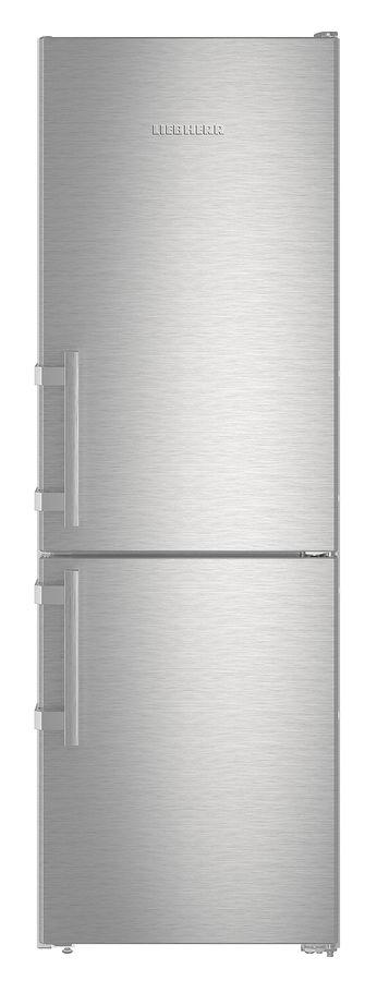 Холодильник LIEBHERR CUef 3515,  двухкамерный, нержавеющая сталь