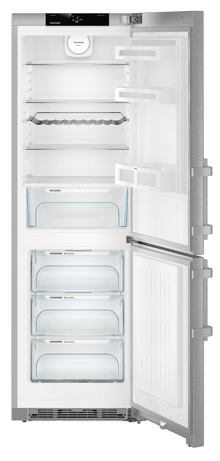 Холодильник LIEBHERR CNef 4315,  двухкамерный, нержавеющая сталь