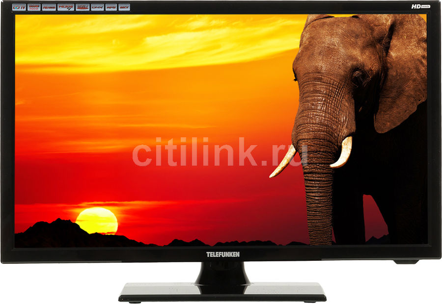 "LED телевизор TELEFUNKEN TF-LED19S30  ""R"", 18.5"", HD READY (720p),  черный"
