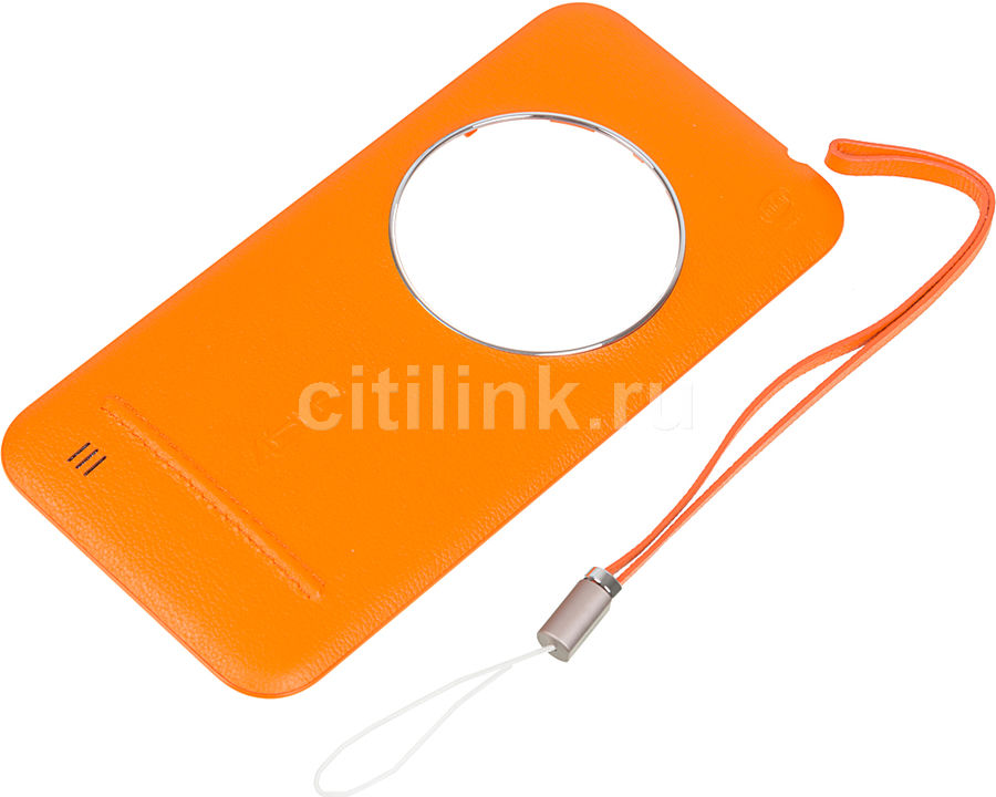 Задняя крышка ASUS Leather Case,  Asus ZenFone Zoom ZX551ML,  оранжевый [90ac0100-bbc005]