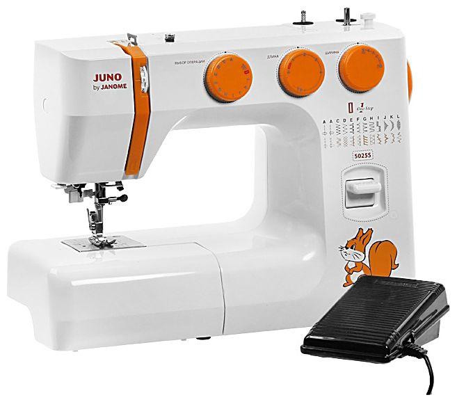 Швейная машина JANOME Juno 5025 S белый [juno by janome 5025s]