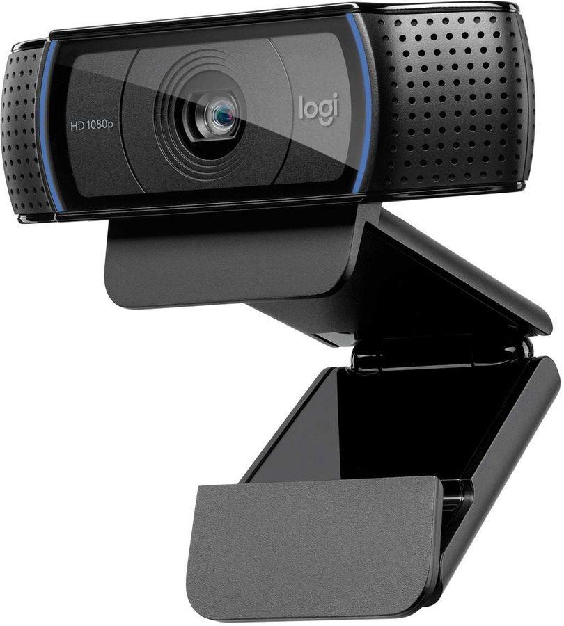 Web-камера LOGITECH HD Pro C920,  черный [960-001055]
