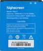 Аккумуляторная батарея HIGHSCREEN Pure F HIGHSCREEN Pure F [22855] вид 2