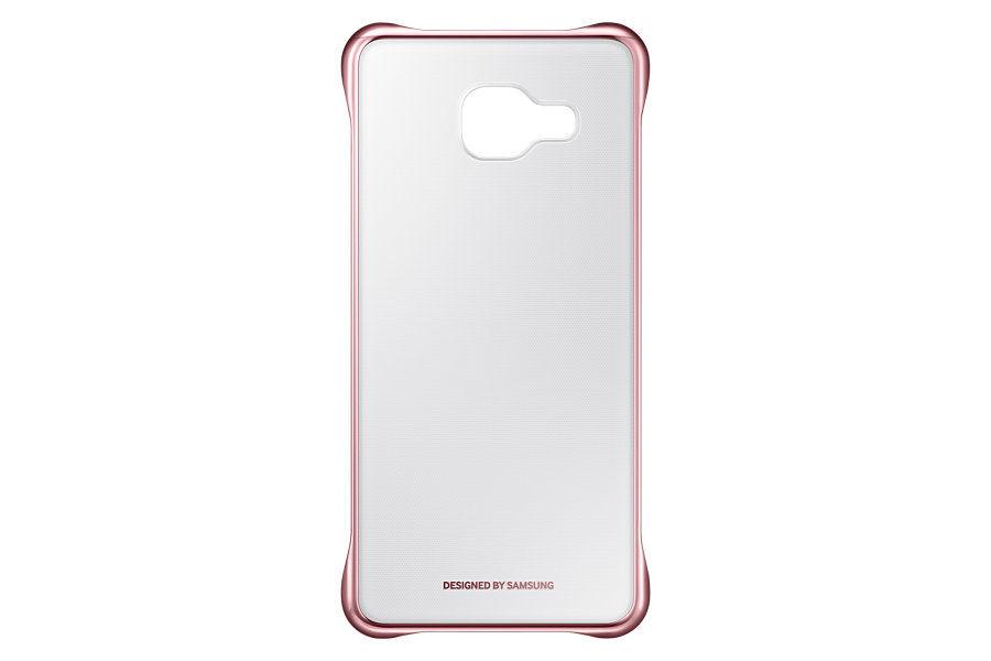 Чехол (клип-кейс) SAMSUNG Clear Cover, для Samsung Galaxy A3 (2016), розовое золото [ef-qa310czegru]