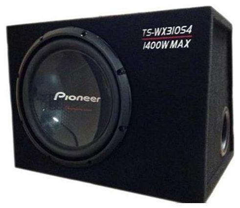 Сабвуфер автомобильный PIONEER TS-WX310S4,  пассивный,  1400Вт