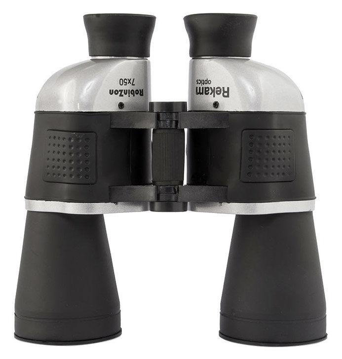 Комплект биноклей REKAM Robinzon 7x50&4x30,  7 x 50,  Porro,  черный [1305000301]