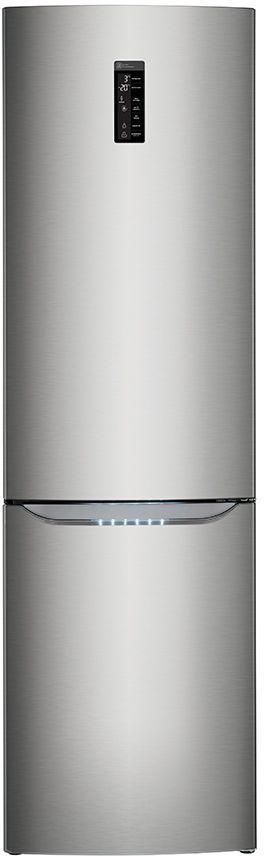 Холодильник LG GA-B489SMQZ,  двухкамерный,  серебристый