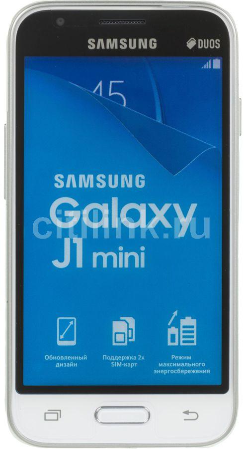 Смартфон SAMSUNG Galaxy J1 mini (2016) SM-J105  белый
