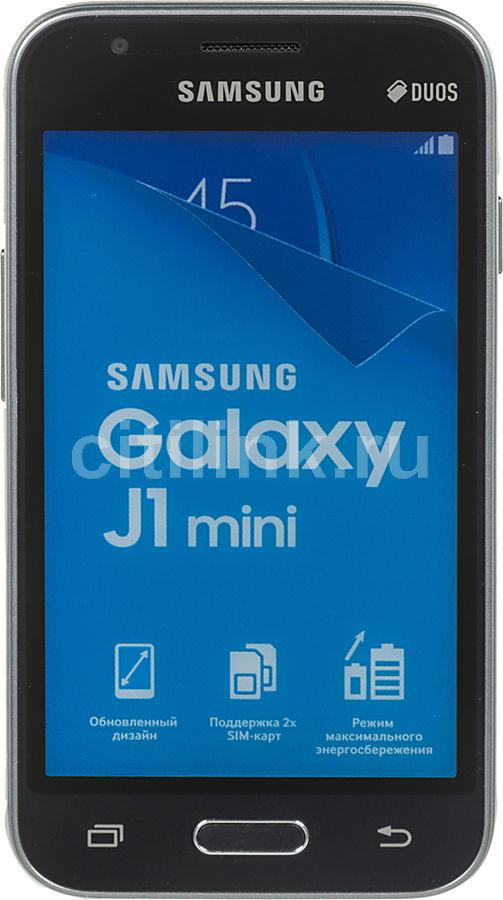 Смартфон SAMSUNG Galaxy J1 mini (2016) SM-J105,  черный